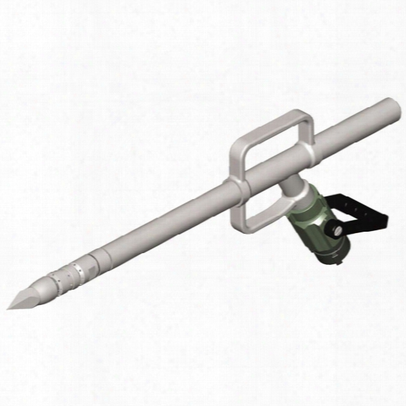 Pok 3' Penetrating Nozzle, 17.1 Lbs., 170 Gpm & Ball Shutoff 1.5 F Inlet - Male - Included
