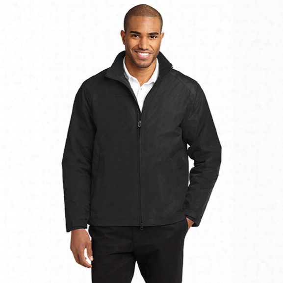 Port Authority Challenger Ii Jacket, True Black/true Black, 2x-large - Black - Male - Included