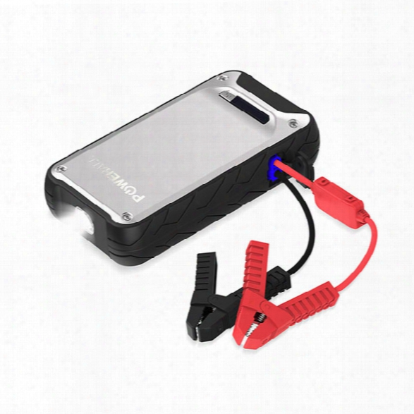 Powerall Element Ip65 Water Resistant 12v 400a Jump Starter 6,000mah Power Bank - Mrine - Male - Included