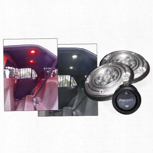 Pro-gard Prisoner Transport Lighting - White - Male - Excluded