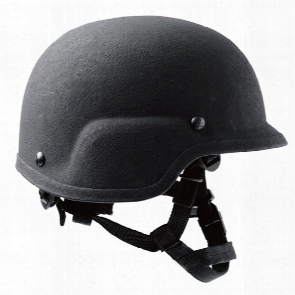 Protech Pasgt Ballistic Helmet Iiia W/r2s System, Black, One Size - Black - Unisex - Excluded