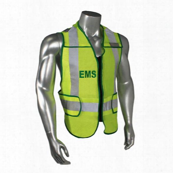 Radians Class 2 Zip-n-rip 3m Scotchlite Vest, Ems, Hi-viz Green W/green Trim, Jumbo - Green - Unisex - Included