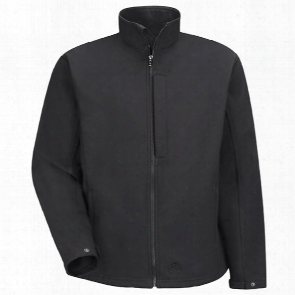 Red Kap Soft Shell Jacket, Black, 2x-large Regular - Black - Male - Included