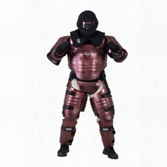 Redman Wds Instructor Suit, Black, Body Guard Small/medium, Head Medium - Black - Male - Excluded