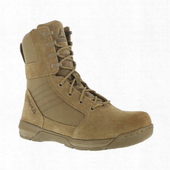 Reebok Strikepoint 8 Military Boot, Coyote, 10.5 Medium - Silver - Unisex - Excluded