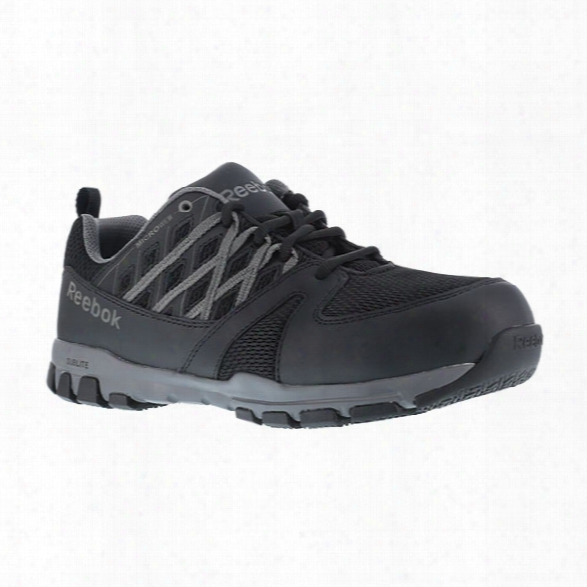 Reebok Sublite Work Training Shoe, Black, 10.5 Medium - Black - Male - Excluded