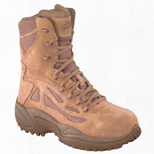 "Reebok Womens Rapid Response 8"" Composite Toe Boot, Desert Tan, 10.5m - Tan - Male - Excluded"