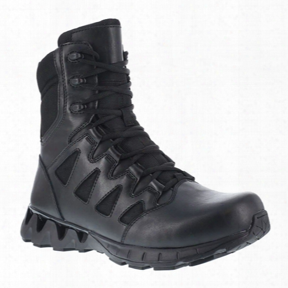 Reebok Women's Zigkick 6 Tactical Boot, Safety Toe, Black, 10.5 M - Metallic - Female - Excluded
