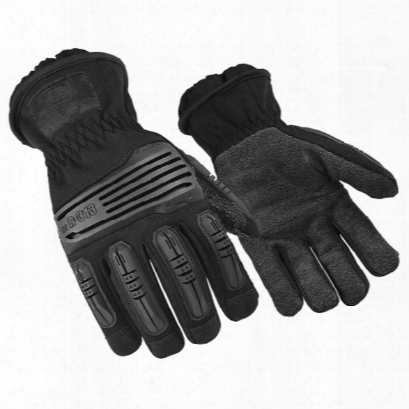 Ringers Gloves Extrication Short Cuff Glove, Black, 2x-large - Black - Unisex - Included