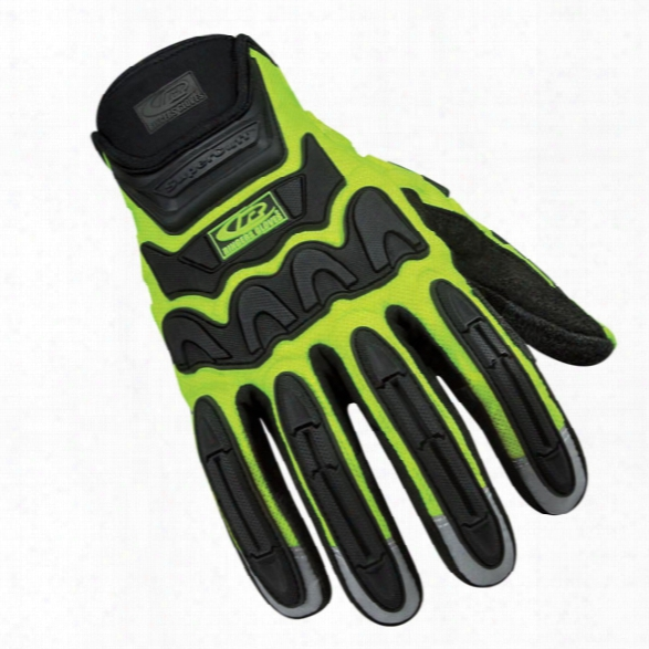 Ringers Gloves R-21 Rescue Glove, Hi-vis, 2x-large - Hivis - Male - Included