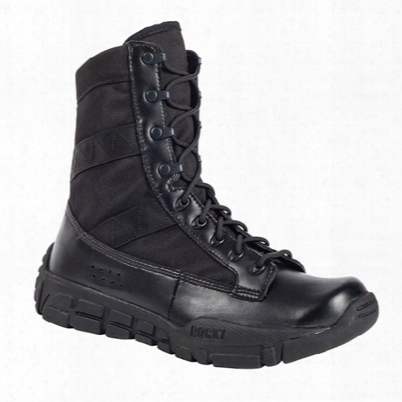 Rocky C4t 8-inch Duty Boot, Black, 10.5m - Black - Unisex - Included