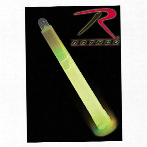 """Rothco 6"""" Chemical Lightstick, 12 Hour, Green - Green - Unisex - Included"""