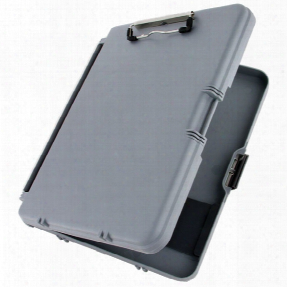 Saunders Workmate Clipboard, Gray - Gray - Male - Included