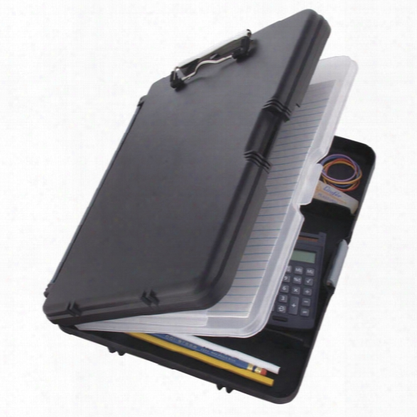 Saunders Workmate Ii Clipboard, Black - Black - Male - Included