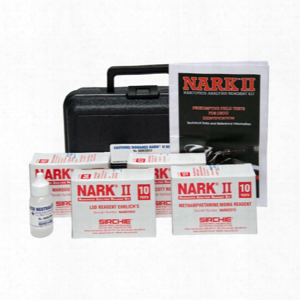 Sirchie Nark Ii Customs 50-test Kit Plus Neutralizer Test, 01 04 07 10 15 - Unisex - Included