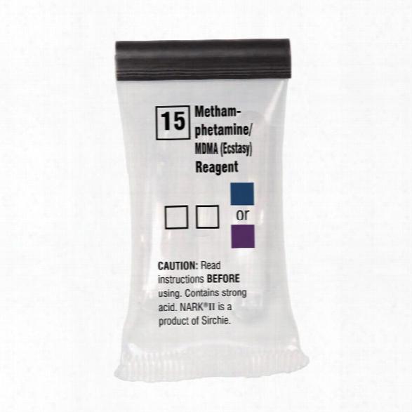 Sirchie Nark Ii Drug Test Reagent, Marquis (opium Alkaloids), 10 Er Box - Unisex - Included