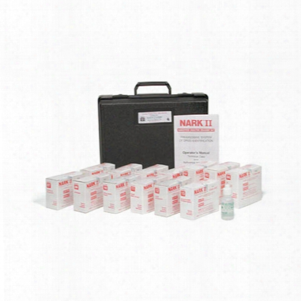 Sirchie Nark Ii Meg 50-test Kit Plus Neutralizer Test, 01, 04, 07, 11, 15 - Unisex - Included