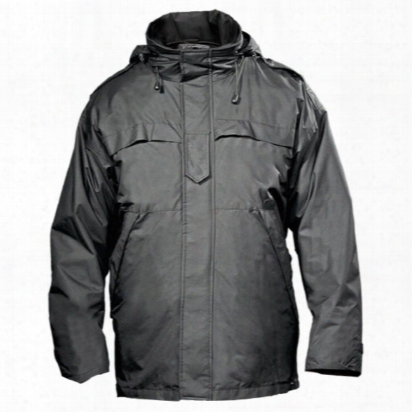Spiewak Weathertech Tactical Response Parka, Black, 2x-large Long - Black - Male - Included