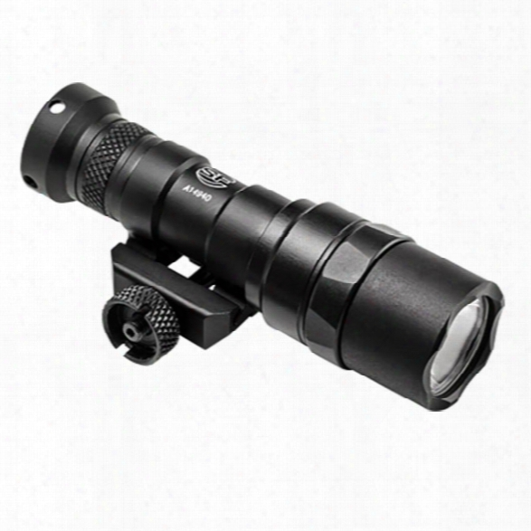 Surefire M300 Mini Scout Light Compact Led Weaponlight, 300 Lu, (1)123a, Black - Black - Male - Included
