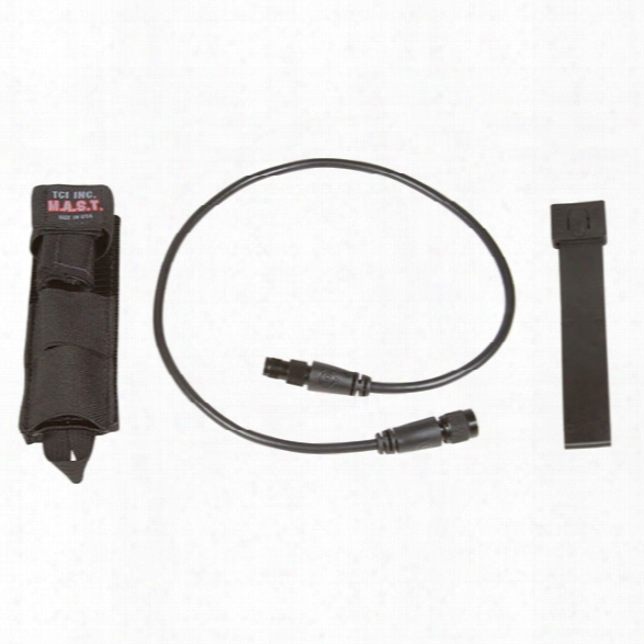 """Tci Modular Antenna System Tactical, Black, Malice Clip, 24"""" Cable - Black - Male - Included"""