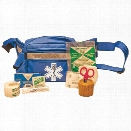 Certified Safety Sports Bag Kit, Blue Fanny Pack, SB2 - Blue - male - Included