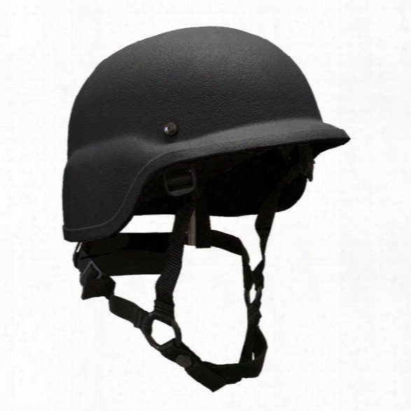 United Shield Pst Sc 650 Level Iiia Helmet, Black, Large - Black - Male - Excluded