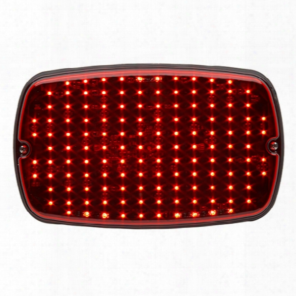 Whelen M9 Series Linear Super-led® Surface Mount, Brake/tail/turn, Red - Red - Male - Excluded