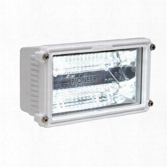 Whelen Pioneer™ Series Single Panel Floodlight, White Housing - White - Male - Excluded