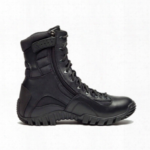"Belleville 8"" Kyber Lightweight Side-zip High Performance Tactical Boot Black 10.5 Reg - Black - Male - Included"