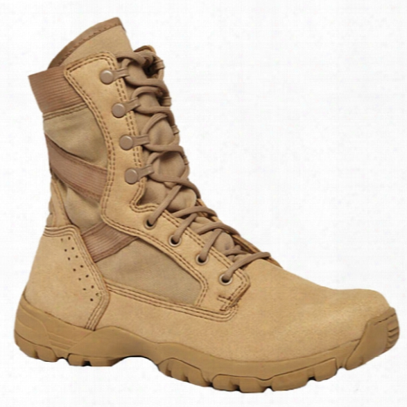 Belleville Flyweight Ii Ultra Ltwt Hot Weather Garrison Boot, Tan, 4r - Tan - Male - Included