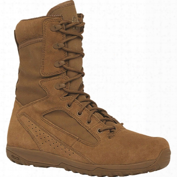Belleville Mini-mil Transition 8-inch Boot, Coyote, 10.5 Regular - Brown - Male - Included