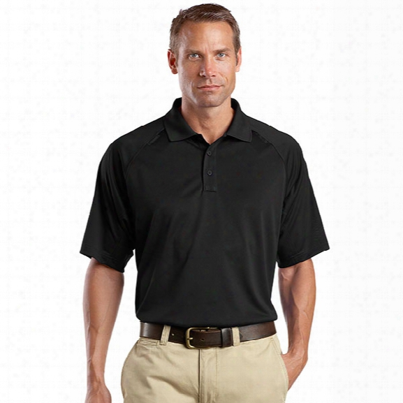 Cornerstone Performance Tactical Polo Tall, Black, 2x-large - Black - Male - Included
