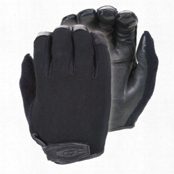 Damascus X4 V-force Gloves, W/ Koreflex Fingertip Protection And Kevlar Liner, Black, 2x-large - Black - Unisex - Included