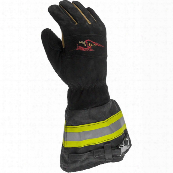Dragon Fire Alpha-x Texan Structural Glove, Large - Male - Included