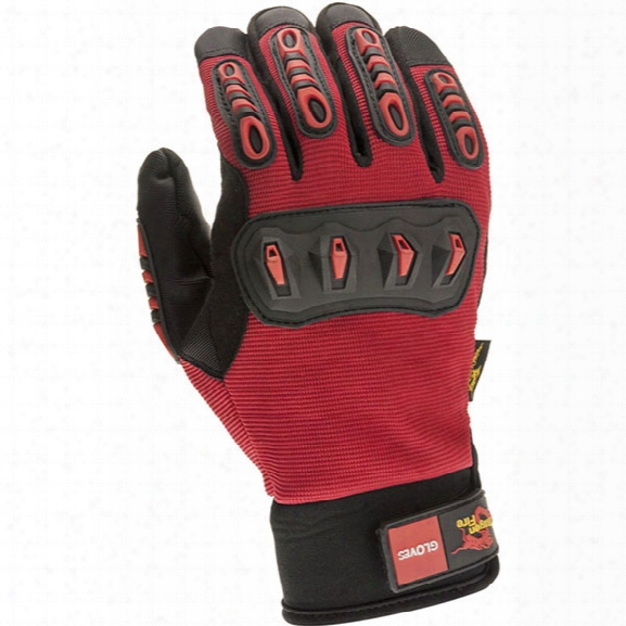 Dragon Fire Tru-fit Rescue Glove, Large - Male - Included