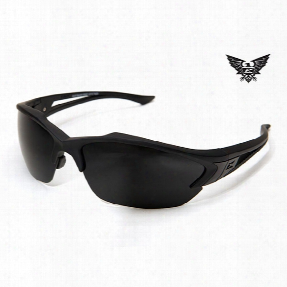 Edge Eyewear Acid Gambit Tactical Eyewear, Black With G-15 Lens - Clear - Unisex - Included
