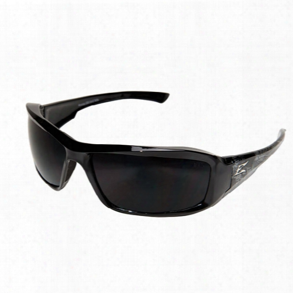 Edge Eyewear Brazeau Skull Series Safety Glasses - Black - Unisex - Included