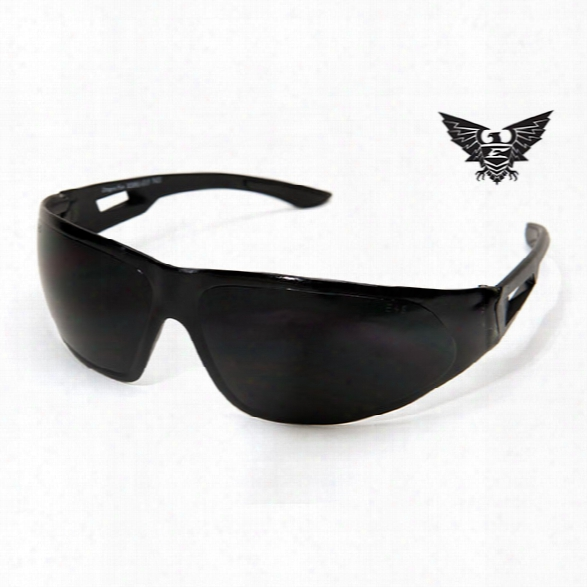 Edge Eyewear Dragon Fire Tactical Eyewear, Black With G1-5 Lens - Clear - Unisex - Included