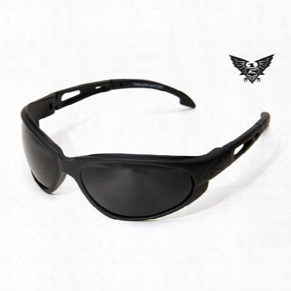 Edge Eyewear Falcon Tactical Eyewear, Black With G-15 Lens - Clear - Unisex - Included