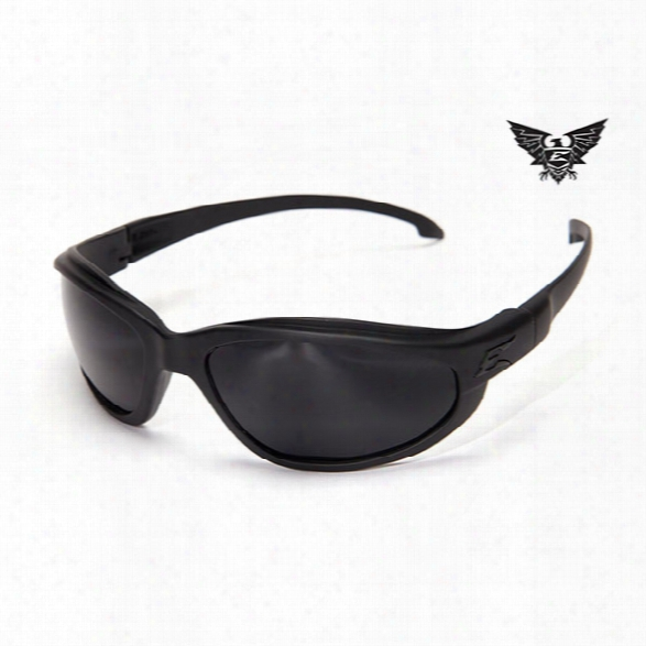 Edge Eyewear Falcon Thin Temple Tactical Eyewear, Black With G-15 Lens - Clear - Unisex - Included