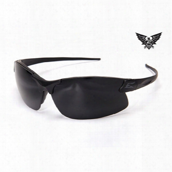 Edge Eyewear Sharp Edge Thin Temple Tactical Eyewear, Black With G-15 Lens - Clear - Unisex - Included