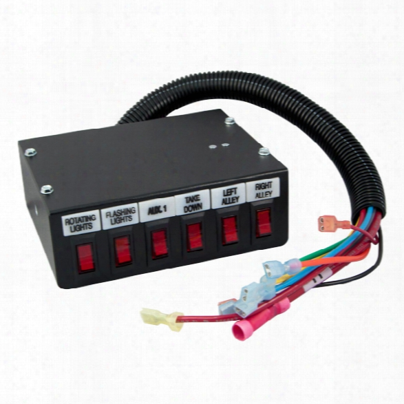 Federal Signal Control Switch Box - Male - Excluded
