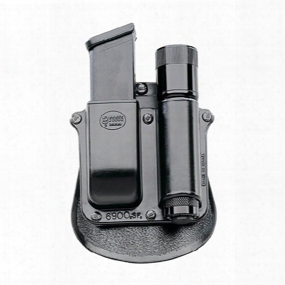 Fobus Mag/light Combo, Paddle, Fits Glock & H&k Usp W/surefire Light - Unisex - Included