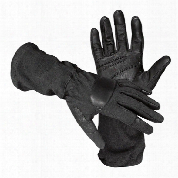 Hatch Sog600 Operator Tactical Glove W/ Goatskin, Black, 2x-large - Black - Male - Included
