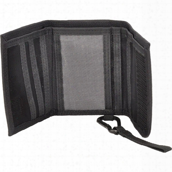 Hazard 4 Wafer Slim Tri-fold (1000d Ballistic Nylon), Black - Black - Unisex - Included