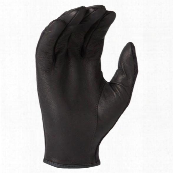 Hwi Tactical & Duty Design Unlined Spandex Knit & Goatskin Leather Duty Glove Black 2xlarge - Black - Unisex - Included