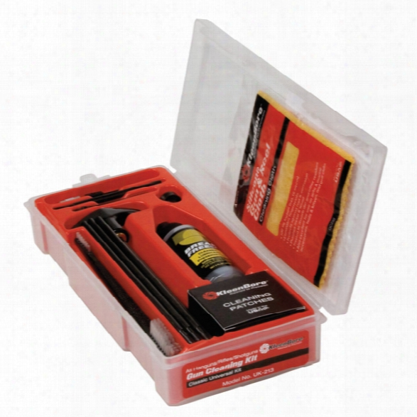 Kleen Bore Classic All-gauge Universal Gun Cleaning Kit - Unisex - Included