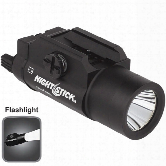 Nightstick Tactical Weapon Light, 350 Lumens - Black - Male - Included