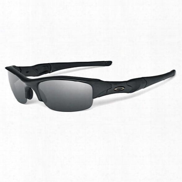 Oakley Flak Jacket Sunglasses - Clear - Male - Included