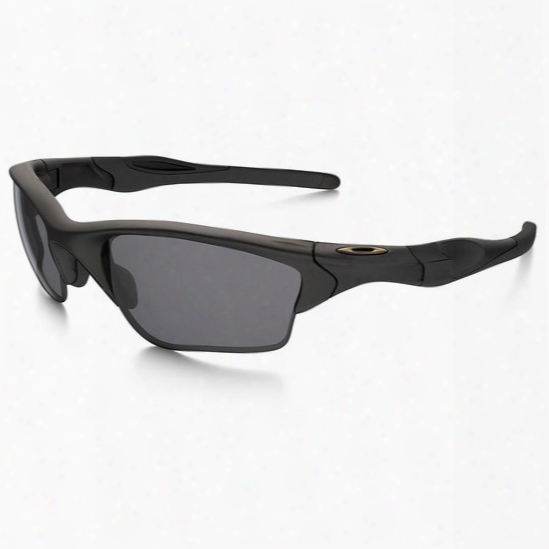 Oakley Half Jacket 2.0 Xl , Matte Black / Grey - Black - Male - Includded